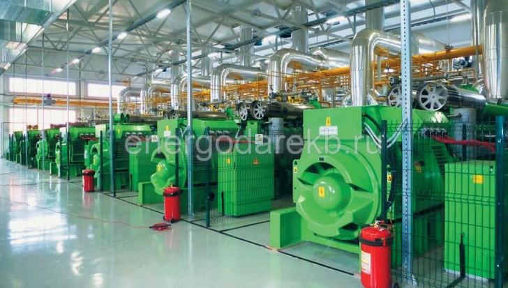 Газопоршневая электростанция (3354 кВт) GE JENBACHER J620 (ГПУ)